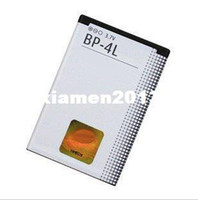 Yes Nokia BP-4L Wholesale 10pcs lot, Free Shipping BP-4L BP4L BP 4L Battery For Mobile Phone E71 E71X E72 E90 E95,