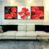 Wholesale Livingroom bedroom paintings Digital oil painting diy decorative painting cm set beautiful flower gift painting