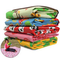 Wholesale NADO Picnic Mat Large Size Baby Climbing Mats Children s Play Mats Portable Beach Mats Folded Small Cartoon Design Accept Mix Design per