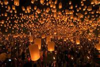 New Year Kongming lantern  free shipping Sky Lanterns,Wishing Lantern fire balloon Chinese Kongming lantern Wishing Lamp