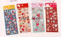 Graphic vinyl kawaii stickers - New kawaii D Elsa animal diamond pvc sticker