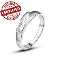 Wholesale Certified Solid Sterling silver k gold plated CZ rings for mens wedding jewelry