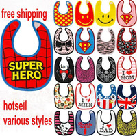 Wholesale cotton baby bibs waterproof infant bibs