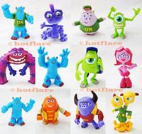 Finished Goods art mike - 12pcs Monsters University Inc Playset Sulley Mike Randy Art Squishy Figure