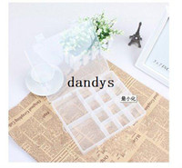 drugs - New transparent cases portable drug case Jewelry storage case