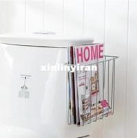 Wholesale Bathroom Toilet Magazine Book Holder Storage Orgniser Rack Shelf HQS G100023