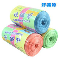 Wholesale Min Order mixed order multicolour car garbage waste trash bag clean up rubbish for household cleaning plastic bags