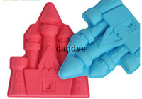 Wholesale Creative Summer ice tray The palace shape ice mould