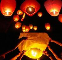 Holiday   Free Shipping Chineses Lantern Sky Lantern Kongming Lantern Flying Wishing Lamp Wedding Party Paper Lights(10pcs lot)