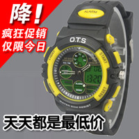 Cheap Complete Calendar mens watch Best Analog-Digital Rubber sports watch