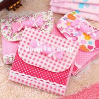 Fabric Bedding Storage Bags 6pcs wholesale 2491 belt candy sanitary napkin bags sanitary napkin storage bag cotton bag (DM)