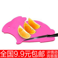 Wholesale 9 rabbit board plastic fruit cutting board plate cutting board g