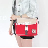 Wholesale Messenger Bag Travel Suitable Shoulder Bag Organizer Canvas Schoolbag Girl Tote Sorting Clutches