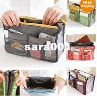 Unisex purse organizer - Promotions Lady s organizer bag handbag organizer purse organizer with pockets storage bags multifunction pocket for Ipad
