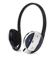 Wholesale Bluetooth Stereo Headphones Mp3 Music Card Black D3177A