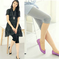 Wholesale Summer Maternity Pants Maternity Leggings candy color wrinkles pregnant women Trousers