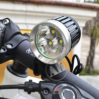 Wholesale NEW LM xCREE XML XM L T6 LED Bicycle Bike Head Light Lamp x8 v mAh Battery Pack NEW
