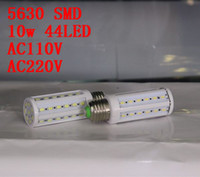 Wholesale LED Corn Light Bulb SMD W LED Light E27 degree High Power Warm cool White V V Years warranty pcsl ot