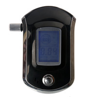 Wholesale New AT6000 Smart MCU Control Breath Alcohol Tester Analyzer Breathalyzer LCD C348