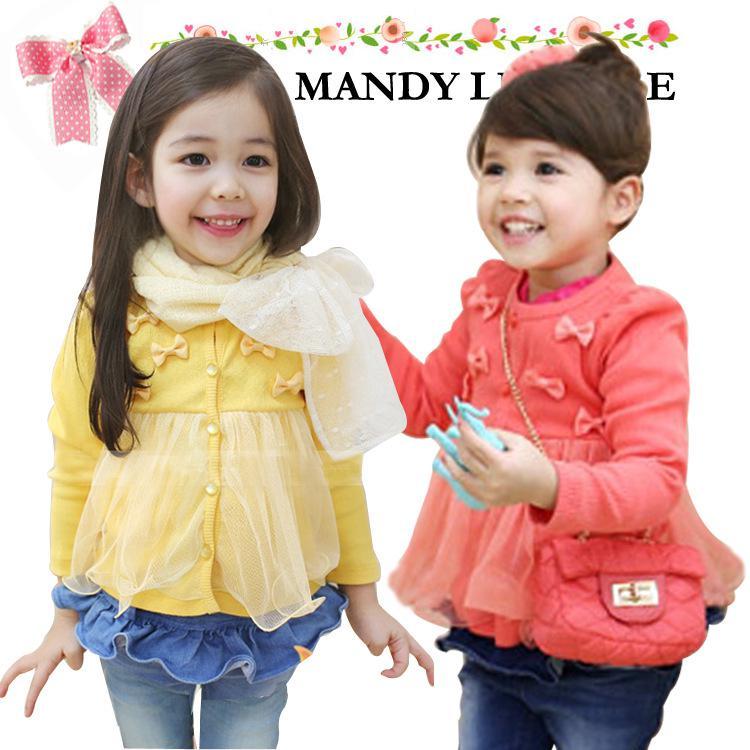 Baby Girl Cardigan Spring Autumn Cute Toddler Girl Clothes Fashion ...