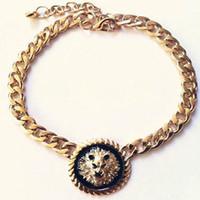 Wholesale Lion Pendant Necklaces fashion chain jewelry high quality wedding pendant necklace