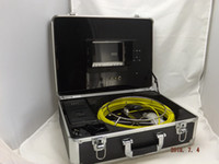 caméra d'inspection de canalisation de la vidéo CCTV Système de vidange d'inspection des égouts endoscope H115 de câbles en fibre de verre de 30m