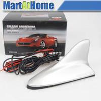 Wholesale Best Sliver Car Auto Digital TV DVB T Antenna Booster F Connector CF
