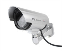 Wholesale Home Surveillance Security Dummy IR Simulation Camera Waterproof LED Flashing CCTV RL A F2102D
