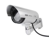 rl - Hot Sale Home Surveillance Security Dummy IR Simulation Camera Waterproof LED Flashing CCTV RL A F2102D
