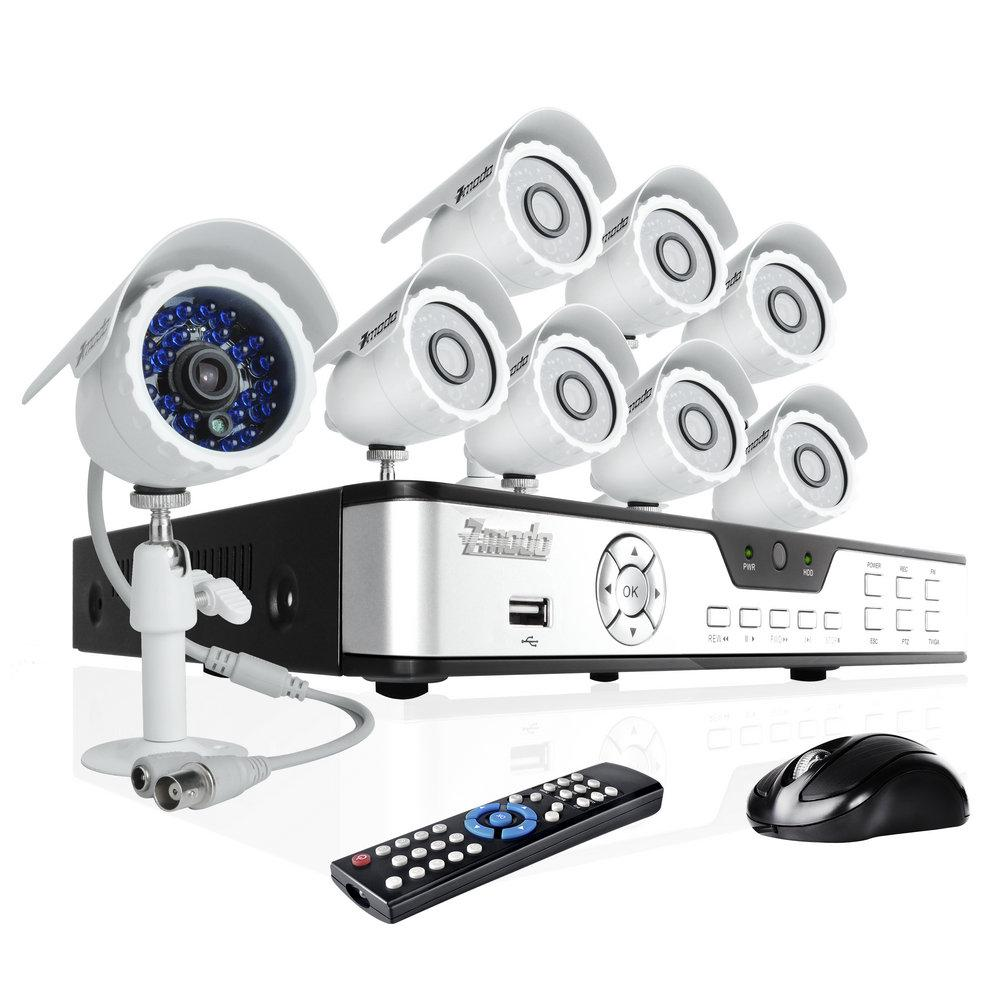 Security Camera Systems: Zmodo Security Camera Systems Reviews