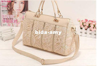 Wholesale 2013 Hot Sale Fashion Skull Clutch Womens Bags Casual Dress Shoulder Purse Handbag Lace Sexy Tote Bags Boston C023