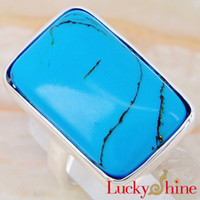 sterling silverTurquoise Fashion Silver Rings Free Shipping ...