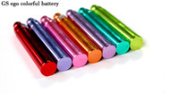 Wholesale E Cig EGO Colorful Battery With mAh Capacity Fit CE4 CE5 Thread CE Series Clearomizers