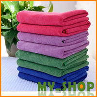 Wholesale Microfiber bath towel cm air conditioning quilt quick drying towel gift terry towel Towel