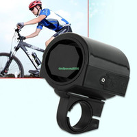 Wholesale EB3145 Mini Electronic Bicycle Bike Cycling Loud Horn Bell Black