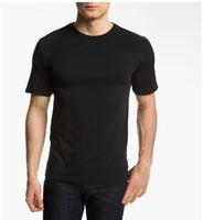 Men 100%Silk Round Men's Heavy Weight 100% Silk Knitted T-shirt L~XL~XXL Multi