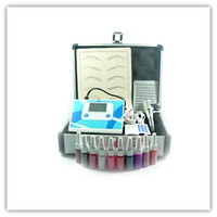 Wholesale Permanent Tattoo Makeup Kit LED EyeBrow Pen Machine Bottles INKs make up