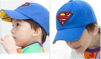 Boy ball return - snapbacks hats Children s Superman Returns baseball cap peaked cap kid s sport hat
