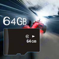 Cheap 64GB Micro SD Card TF Memory Card Class 10 high speed Retail Package 5D 30D 60D 70D 700D 600D from E100 shop 200PCS