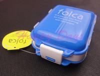 Plastic Eco Friendly Food Via Fedex EMS, 1 Week Pill Box Folca Pill Case Medicine Storage Box Tablet Case Jewelry Case Organizer 400PCS