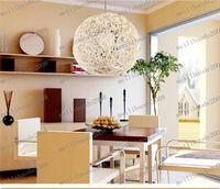 Wholesale LLFA126 Modern cm Kitchen Pendant Light Island Ceiling Lamp Aluminum Wire EMS shipping