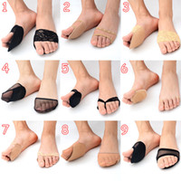 Wholesale Super Soft Forefoot Pad High heeled Shoes Invisible Heel Cushions Anti slip Half Insole Thicken Shoe Pads Foot Care Supply