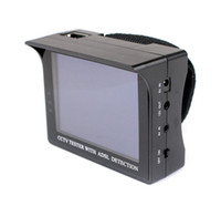 Wholesale 3 Inch CCTV Security Tester With ADSL Detection Engineering Treasure Video Monitor Tester HD LCD Monitor F2081A