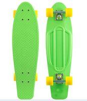 "Cheap Free Shipping 27"" 2013 Nickel board Mini Cruiser Penny Plastic Skateboard Wholesale Penny Skateboard"