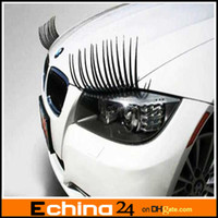 Wholesale Super Cute Automotive Eyelashes Car Accessories D Eyelash Auto Parts Sticker