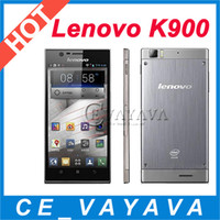16GB 1920x1080 2G Original Lenovo K900 2.0GHz 5.5 inch AH IPS FHD Screen Intel Atom Z2580 CPU 2GB RAM 16GB ROM Android 4.2.1 13.0MP Multi Language 3G GPS