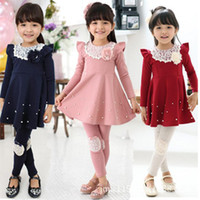 new 2013 girls dresses baby clothing Korean design flowers t...