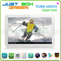 Wholesale Big promotion Android OS IPS Screen GB RAM GB ROM Cube U30GT2 Tablet PC Wifi HDMI Dual Camera