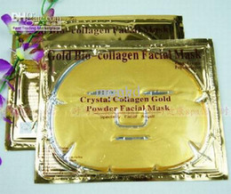 Wholesale 50pcs Gold Crystal Collagen Facial Mask Face Masks Brand New