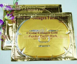 Wholesale 100pcs Gold Crystal Collagen Facial Mask Face Masks Brand New